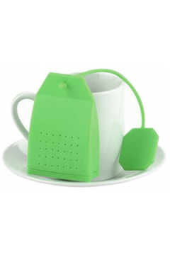 INFUSOR TIPO TEA BAG COR VERDE